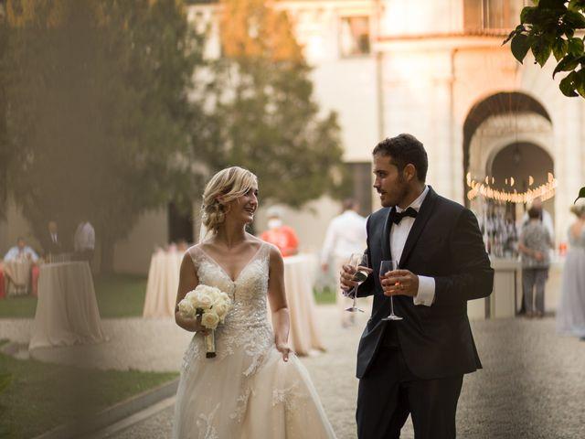 Il matrimonio di Davide e Paola a Castelnuovo Bocca d'Adda, Lodi 97