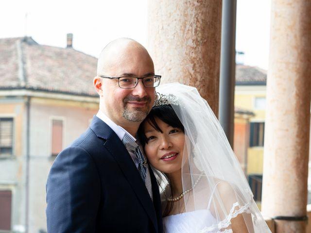 Il matrimonio di Andrea e Mifuka a Padova, Padova 10