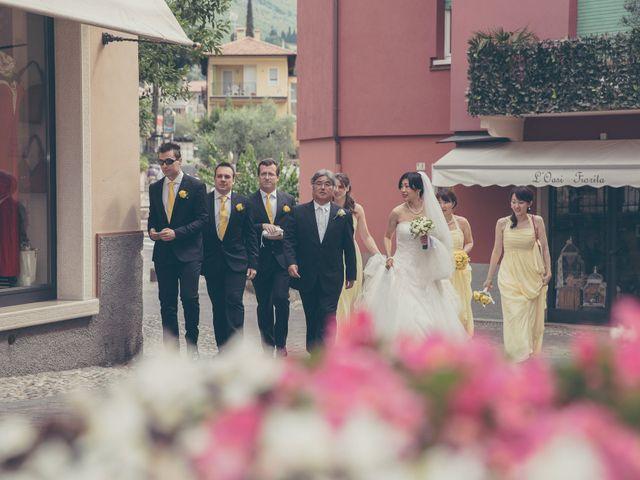 Il matrimonio di Giuliano e Masako a Malcesine, Verona 35