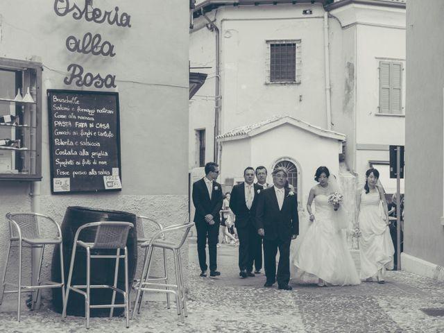 Il matrimonio di Giuliano e Masako a Malcesine, Verona 36