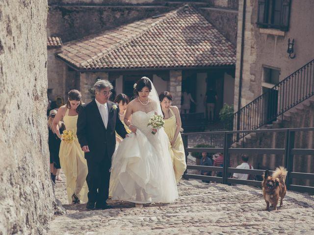 Il matrimonio di Giuliano e Masako a Malcesine, Verona 38