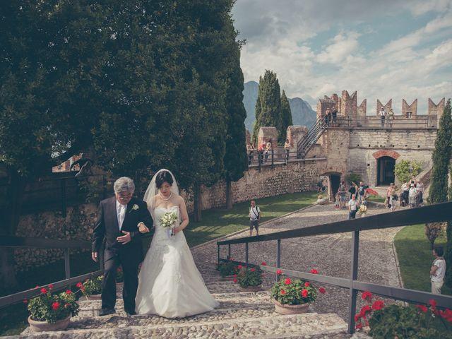 Il matrimonio di Giuliano e Masako a Malcesine, Verona 42