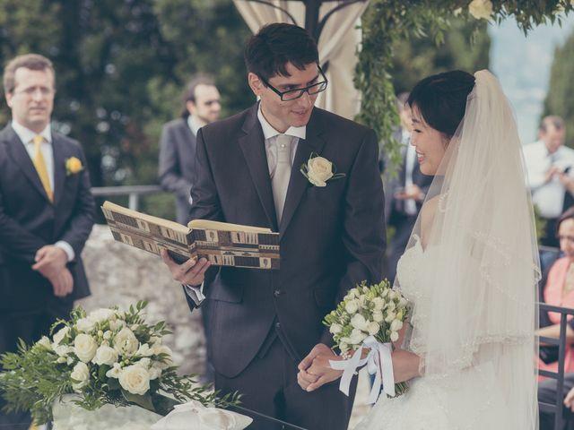Il matrimonio di Giuliano e Masako a Malcesine, Verona 47