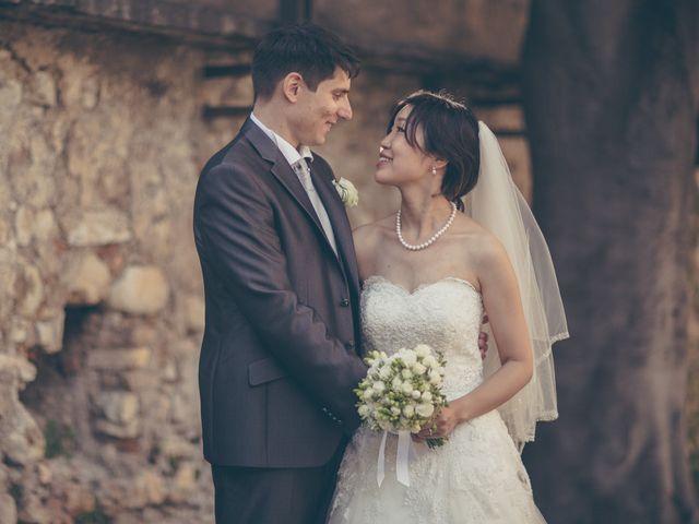 Il matrimonio di Giuliano e Masako a Malcesine, Verona 52