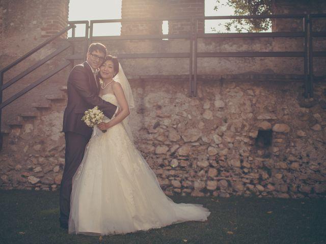 Il matrimonio di Giuliano e Masako a Malcesine, Verona 53