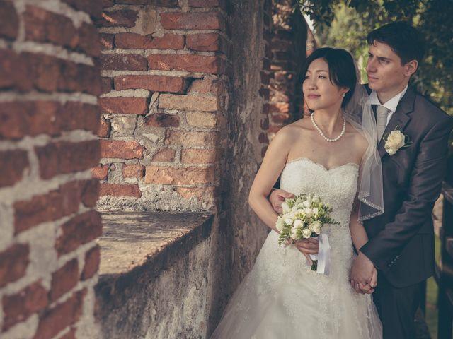 Il matrimonio di Giuliano e Masako a Malcesine, Verona 55