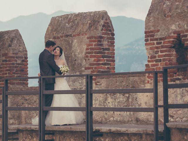 Il matrimonio di Giuliano e Masako a Malcesine, Verona 57