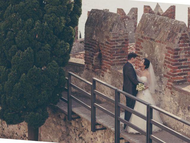 Il matrimonio di Giuliano e Masako a Malcesine, Verona 58