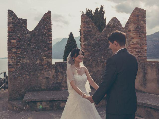 Il matrimonio di Giuliano e Masako a Malcesine, Verona 62