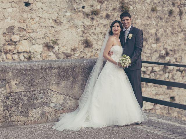 Il matrimonio di Giuliano e Masako a Malcesine, Verona 63