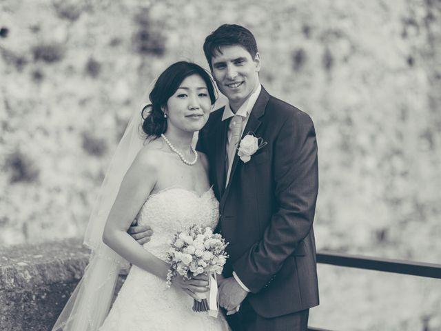 Il matrimonio di Giuliano e Masako a Malcesine, Verona 64