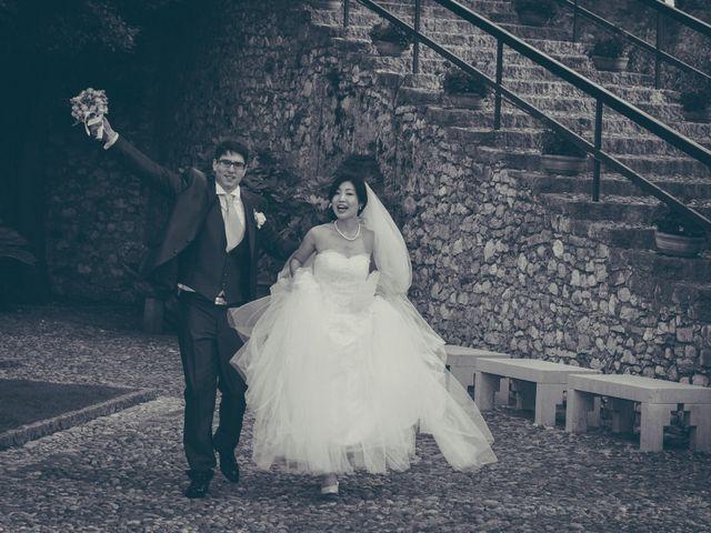 Il matrimonio di Giuliano e Masako a Malcesine, Verona 65