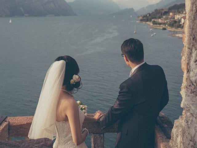 Il matrimonio di Giuliano e Masako a Malcesine, Verona 71