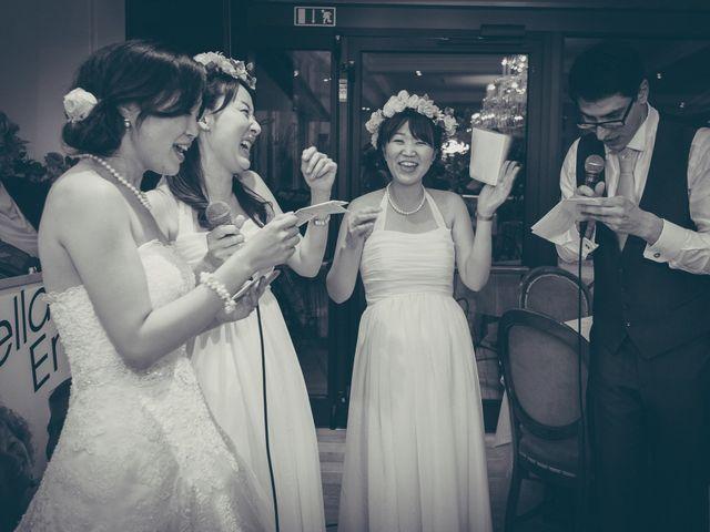 Il matrimonio di Giuliano e Masako a Malcesine, Verona 78
