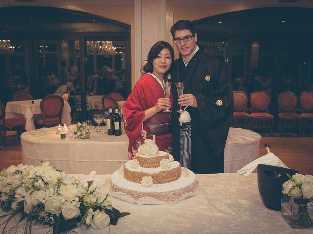 Il matrimonio di Giuliano e Masako a Malcesine, Verona 81