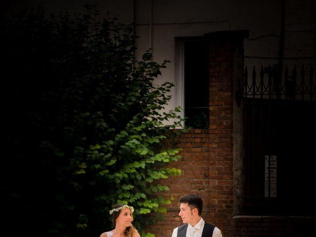 Il matrimonio di Claudio e Carmela a Roccabianca, Parma 14
