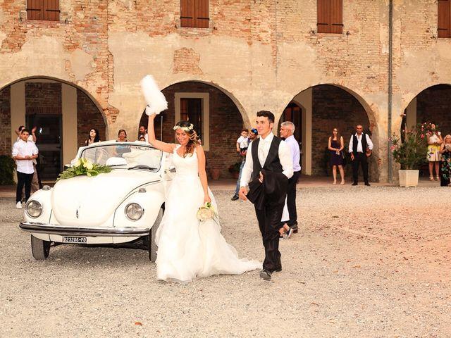 Il matrimonio di Claudio e Carmela a Roccabianca, Parma 28