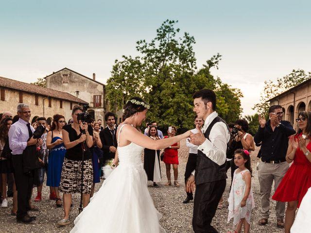 Il matrimonio di Claudio e Carmela a Roccabianca, Parma 31
