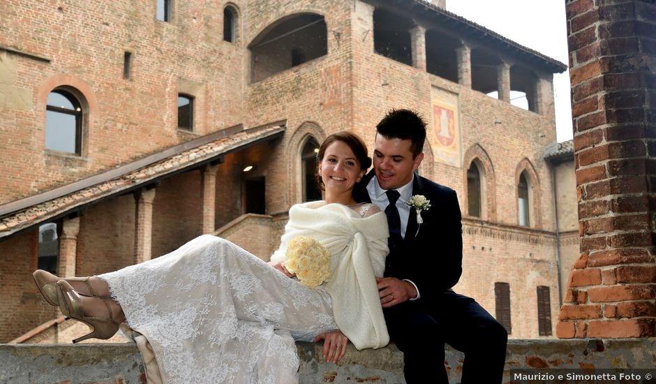 Il matrimonio di Adnan e Giulia a Castell'Arquato, Piacenza