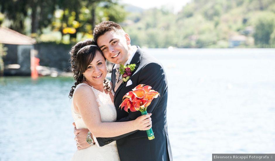 Il matrimonio di Emanuele e Sara a Omegna, Verbania