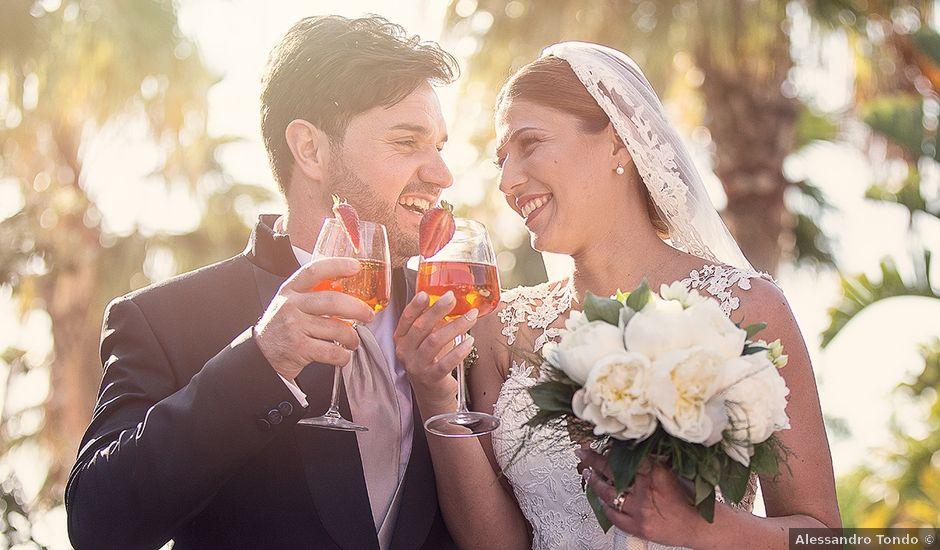 Il matrimonio di Salvo e Gessica a Porto Empedocle, Agrigento