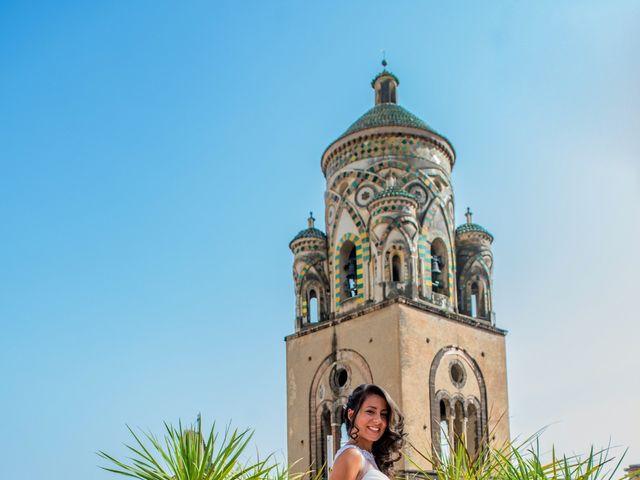 Il matrimonio di Cristian e Renata a Amalfi, Salerno 38