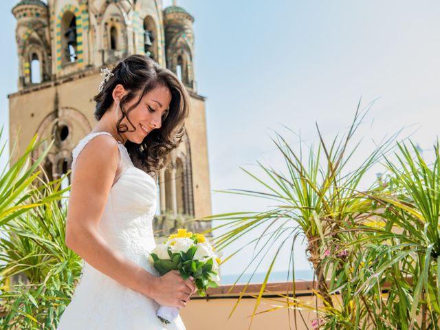 Il matrimonio di Cristian e Renata a Amalfi, Salerno 39
