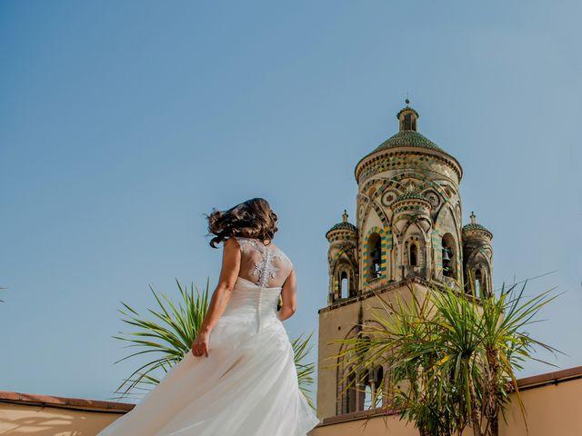 Il matrimonio di Cristian e Renata a Amalfi, Salerno 40