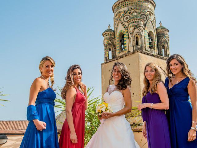 Il matrimonio di Cristian e Renata a Amalfi, Salerno 41