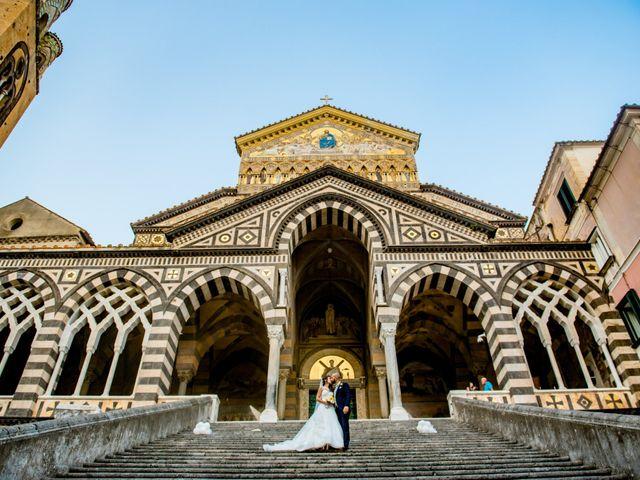 Il matrimonio di Cristian e Renata a Amalfi, Salerno 92