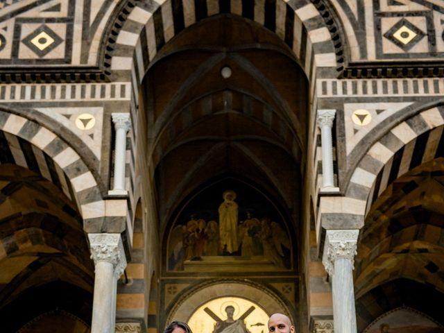 Il matrimonio di Cristian e Renata a Amalfi, Salerno 93
