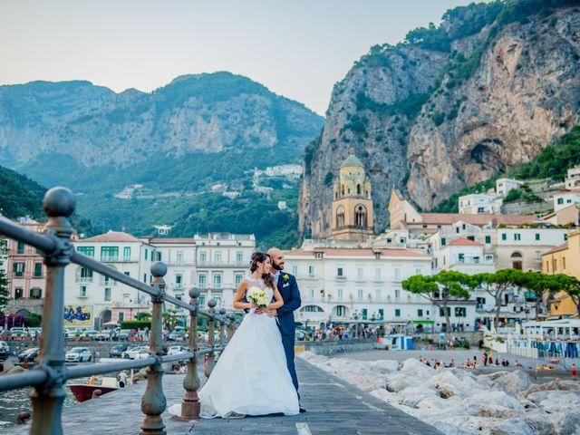 Il matrimonio di Cristian e Renata a Amalfi, Salerno 99