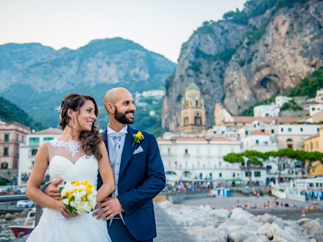 Il matrimonio di Cristian e Renata a Amalfi, Salerno 100