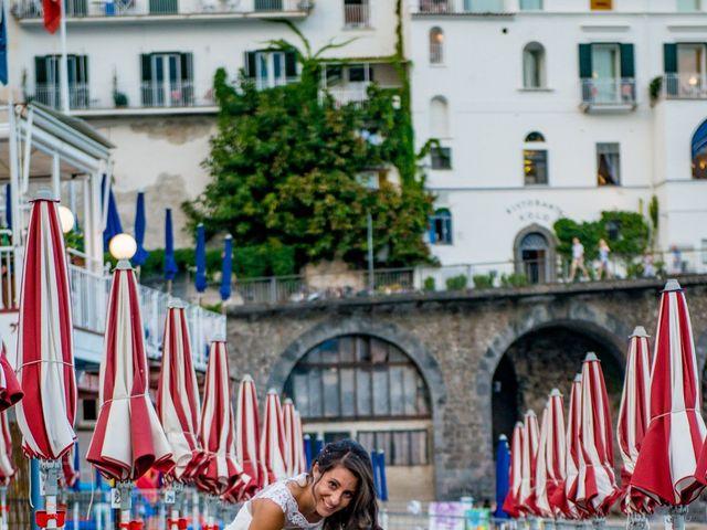 Il matrimonio di Cristian e Renata a Amalfi, Salerno 110