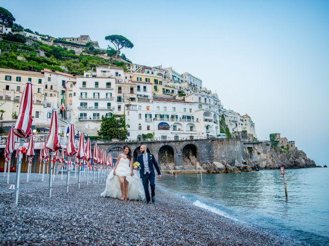 Il matrimonio di Cristian e Renata a Amalfi, Salerno 113