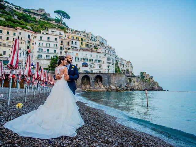 Il matrimonio di Cristian e Renata a Amalfi, Salerno 114
