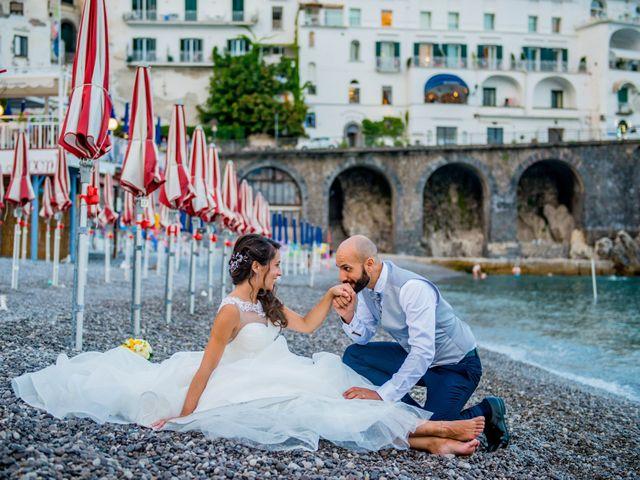 Il matrimonio di Cristian e Renata a Amalfi, Salerno 118