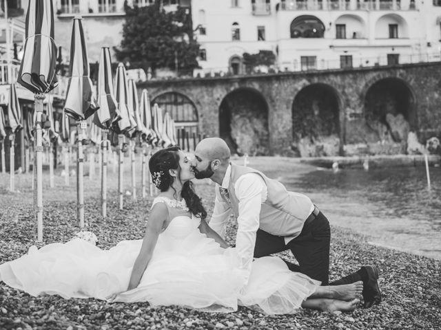 Il matrimonio di Cristian e Renata a Amalfi, Salerno 119