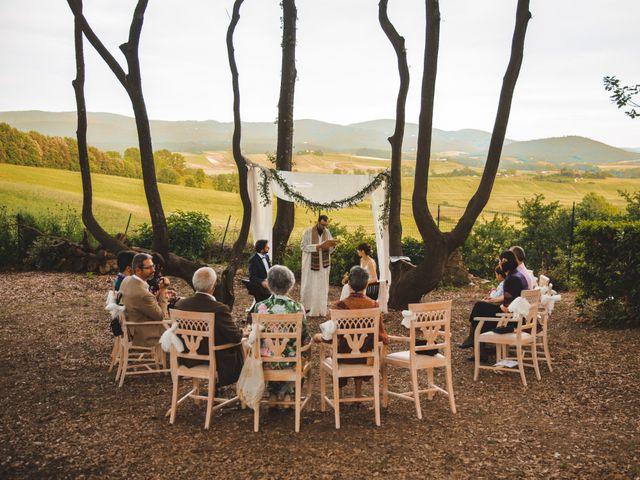 Il matrimonio di Bengiamin e Raquel a Colle di Val d'Elsa, Siena 17
