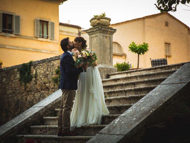 Il matrimonio di Bengiamin e Raquel a Colle di Val d'Elsa, Siena 31