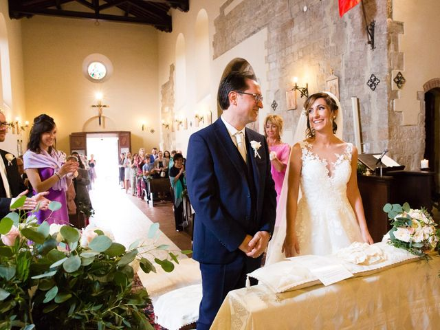 Il matrimonio di Massimo e Valentina a Montepescali , Grosseto 8