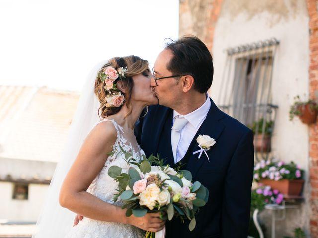 Il matrimonio di Massimo e Valentina a Montepescali , Grosseto 16