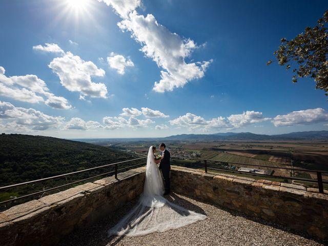 Il matrimonio di Massimo e Valentina a Montepescali , Grosseto 17
