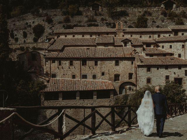 Il matrimonio di Mirko e Laura a Cortona, Arezzo 52