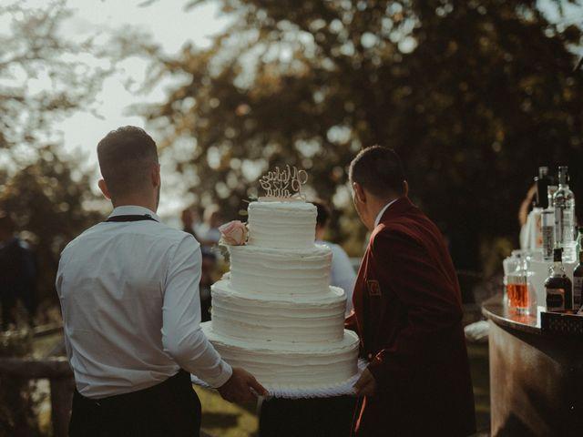 Il matrimonio di Mirko e Laura a Cortona, Arezzo 88