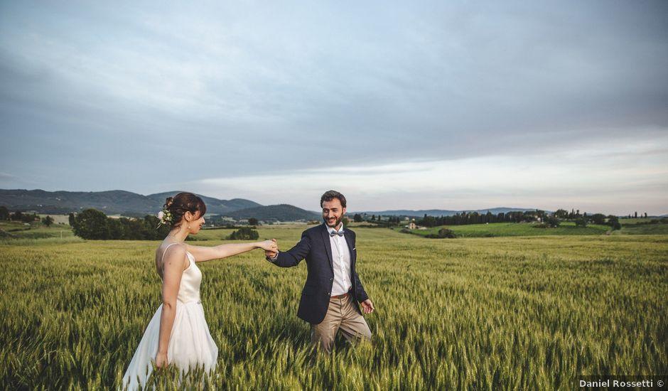 Il matrimonio di Bengiamin e Raquel a Colle di Val d'Elsa, Siena
