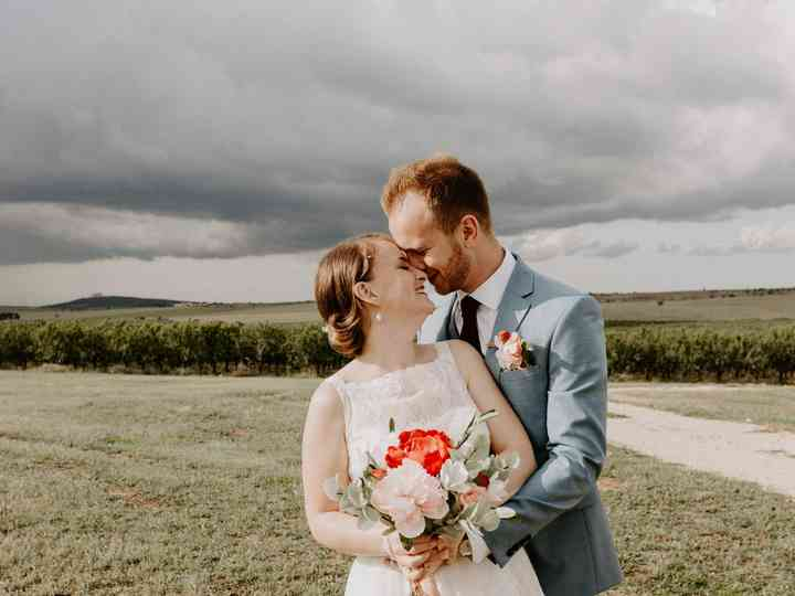 Le nozze di Ellie e Mario