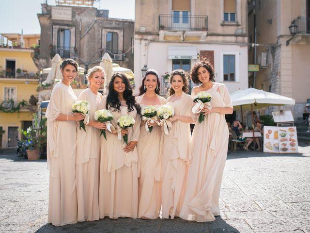 Il matrimonio di Giuseppe e Samantha a Taormina, Messina 9