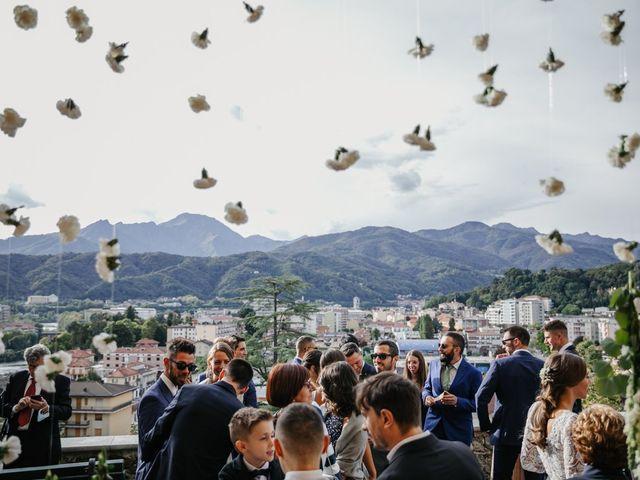 Il matrimonio di Luca e Stefania a Borgosesia, Vercelli 43