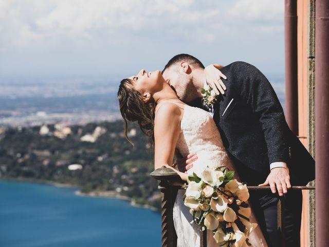 Il matrimonio di Luciano e Eleonora a Rocca di Papa, Roma 1